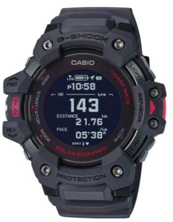 Orologio - Casio G-SHOCK GBD-H1000-8ER Nero dettagli Rossi