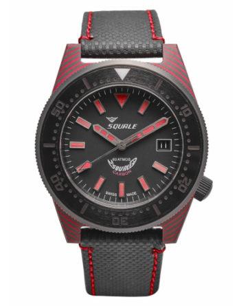 Orologio - Squale Automatico Uomo Carbon Red T-183