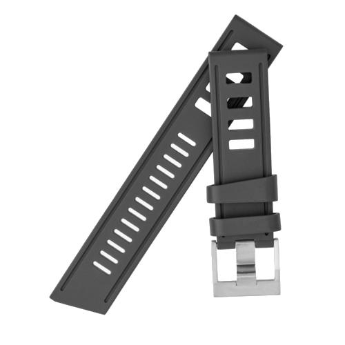 cinturino Isofrane nero 20 mm fibbia RS
