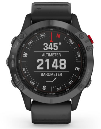 garmin fenix 6 Pro Solar edition Slate grey Black 010-02410-15 a