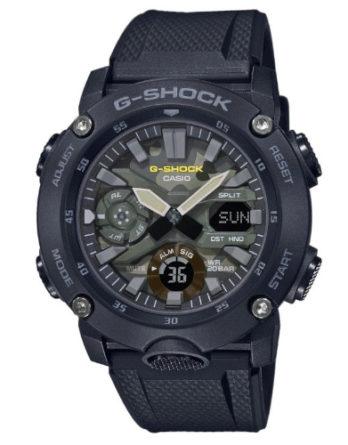 Orologio - G-Shock Uomo ga-2000su-1aer Silicone Nero