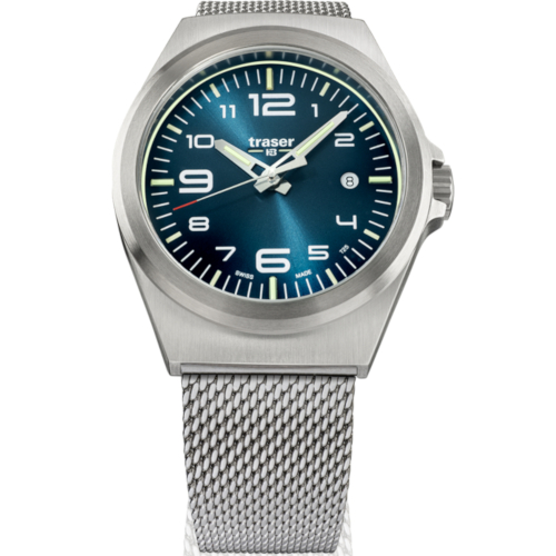 Traser H3 P59 Essenzial M Blue mesh 108205
