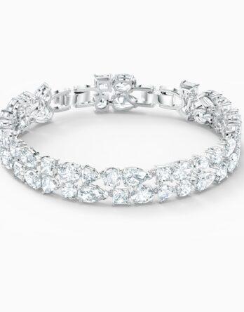 braccialetto-tennis-deluxe-mixed--bianco--placcato-rodio-swarovski-5562088