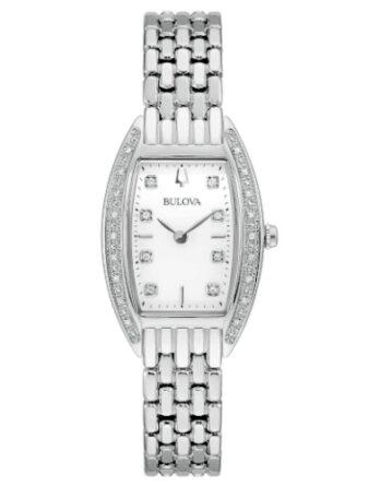 Orologio - Bulova Classic Lady Diamond 96R244 Acciaio