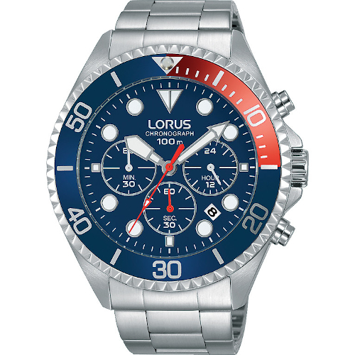 Orologio - Lorus Cronografo Uomo Sports RT317GX9