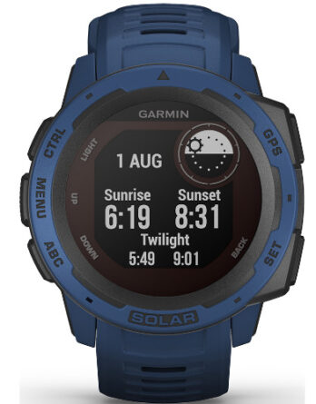 garmin instinct solar tidal blue 010-02293-01 a