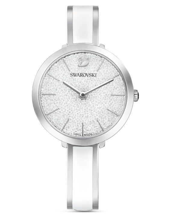 orologio-crystalline-delight--bracciale-di-metallo--bianco--acciaio-inossidabile-swarovski-5580537
