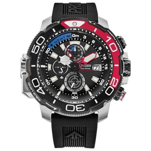 citizen promaster bj2167-03e cronografo con profondimetro nero